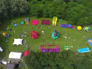 Large family fun day, corporate event hire